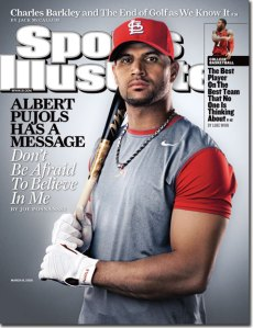 Albert Pujols on SI