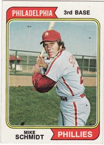 The greatest third baseman to ever play the game, on the first card he appeared alone.