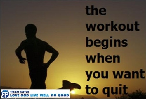 workout begins