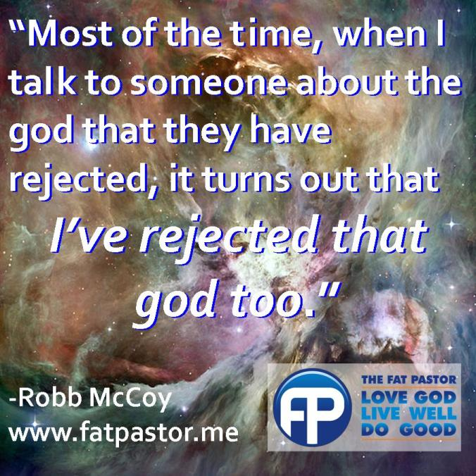 rejected god