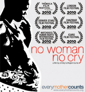 no woman no cry poster