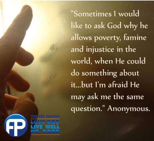 ask god question