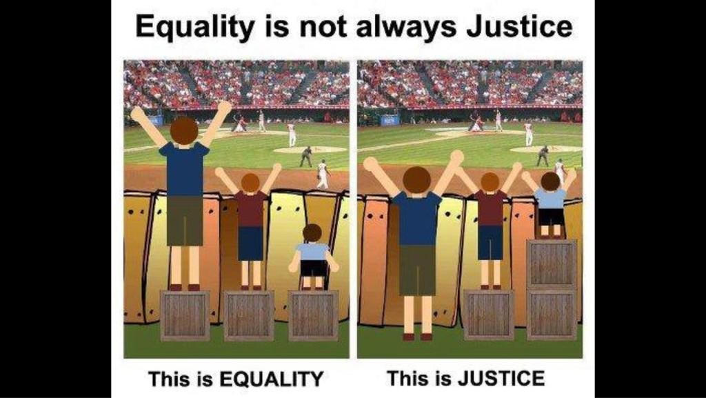 equality versus equity More on equity and equality in education which practices help us to implement equity, and move toward equality, depends on which improve the achievement of lower achievers more than that of higher achievers in the particular circumstances in which they are adopted.