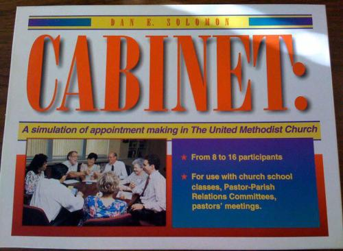 Cabinet, the board game.