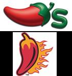 Top: Chili's. Bottom: Ragin' Cajun