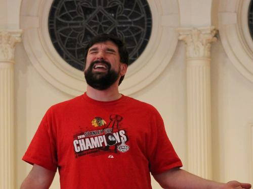 Pastor Robb McCoy will be umm, starring? in Godspell on April 18, 2014.