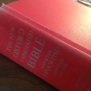 I still have that red Bible with the frayed edges.