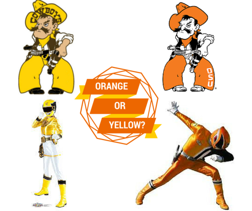 The 2015 Mascot Bracket comes down to Orange Power Ranger versus Yellow Power Ranger. There's no way to choose.