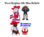 West Region_ Ole Miss Rebels