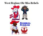 West Region_ Ole Miss Rebels
